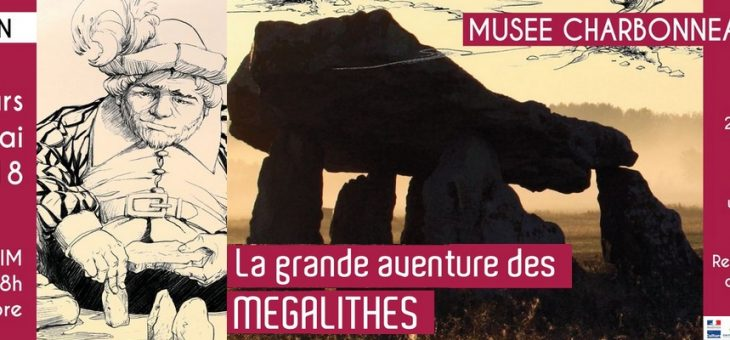 Exposition « La grande aventure des mégalithes » au Musée Charbonneau-Lassay (86)