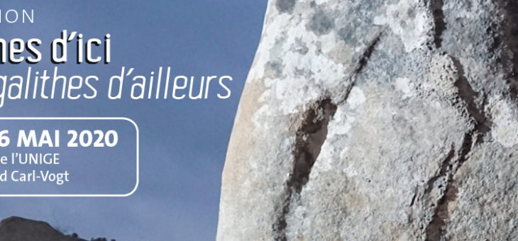 Exposition «Mégalithes d'ici, Mégalithes d'ailleurs» à l'Université de Genève