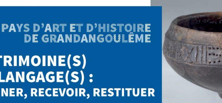 """Conférence """"L'art mégalithique au Néolithique …"""" – Université en Angoumois"""