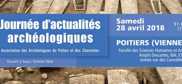 Journée d'actualités archéologiques à Angoulême