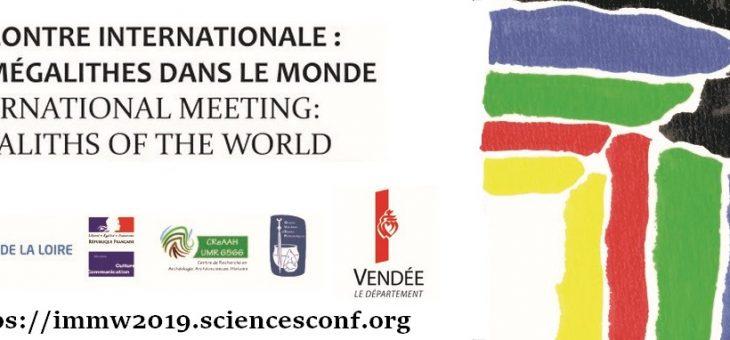 Rencontre Internationale : Mégalithes dans le Monde